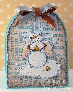 Sizzix Framelits (Tags)...or alter into a snowglobe?