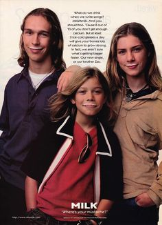 The Hanson Brothers Are All Grown Up, But Wait Till You See Their 11 Kids! - http://www.lifebuzz.com/hanson/