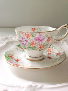 English Bone China Royal Albert Footed by MariasFarmhouse on Etsy