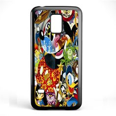Disney Character Famous TATUM-3316 Samsung Phonecase Cover Samsung Galaxy S3 Mini Galaxy S4 Mini Galaxy S5 Mini