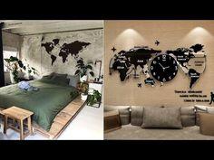 Wall Decor Design, Modern Bedroom, Bedroom Wall, Home Decor, Bedroom Modern, Decoration Home, Room Decor, Contemporary Bedroom, Home Interior Design