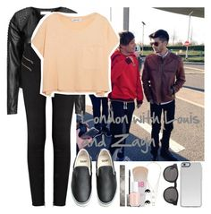 """London with Louis and Zayn"" by kay4nyr ❤ liked on Polyvore featuring Zizzi, J Brand, Elizabeth and James, Vans, Burberry, Miss Selfridge, Maybelline, Essie, River Island and Monki"
