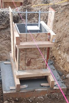 Footing Foundation, Pier And Beam Foundation, House Foundation, Concrete Footings, Concrete Slab, Concrete Posts, Rammed Earth Homes, Steel Frame Construction, Building A Cabin