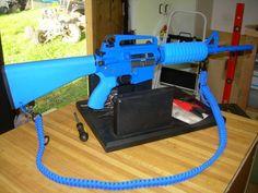 Paracord AR-15 sling Blue
