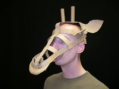 cardboard mask template - Google Search