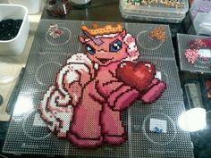 Filly Pony Perler Beads by Kirikina on deviantart