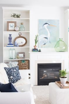 Simple shelf styling tips