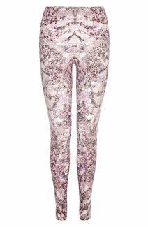 Alexander McQueen Lilac Barnacle Print Leggings
