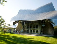 Richard B. Fisher Center for the Performing Arts at Bard College by Frank Gehry