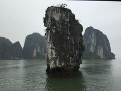 Mini-cruzeiro em Halong Bay no Vietnã