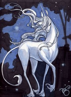 The Art of Renae De Liz: The Last Unicorn - Commissions!