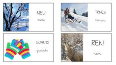 Vocabulari Hivern (Petits grans projectes) Catalan Language, School, Winter, Ideas, Seasons Of The Year, Speech Language Therapy, Initials, Reading, Bebe