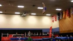 of the week: Trampoline at the CWG including Curtis Gerein with the historical first routine! Gymnastics Videos, Routine