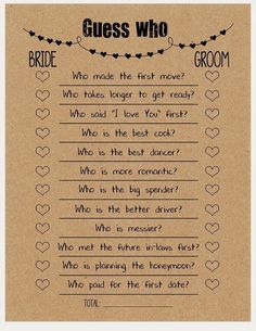 Whatever they said about bridal shower decorations Rustic Diy-D . Whatever they said about bridal shower decorations Rustic Diy-D . - Whatever they said about bridal shower decorations, rustic DIY decor is absolutely wrong … and he - Couple Shower Games, Couples Wedding Shower Games, Wedding Couples, Rustic Wedding Games, Wedding Party Games, Wedding Reception Games, Couple Games, Bride And Groom Wedding Games, Games For Bridal Shower