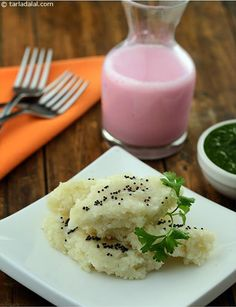 Poha Dhokla, you can whip them up instantly by using beaten rice, which requires no soaking or fermenting. These dhoklas also make a good tiffin option since they do not need reheating.