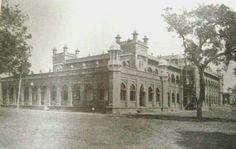 1908, Curzon Hall. Then It was a hall of Dhaka College, Dhaka.