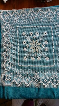 Drawn Thread, Thread Work, Mesh Netting, Needle Lace, Filets, Darning, Cutwork, Filet Crochet, Tenerife