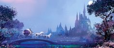 Race Through The Night by Stephan Martiniere (Cinderella)