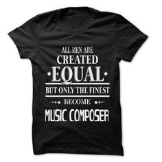Men Are Music Composer ... Rock Time ... 999 Cool Job S - #tshirt blanket #cashmere sweater. SECURE CHECKOUT => https://www.sunfrog.com/LifeStyle/Men-Are-Music-Composer-Rock-Time-999-Cool-Job-Shirt-.html?68278