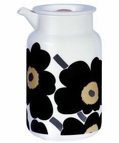 marimekko KITCHEN GOODS(マリメッコキッチングッズ)のUnikko / CAN(食器)|ブラック