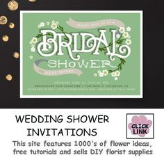 Bridal Shower Invitation