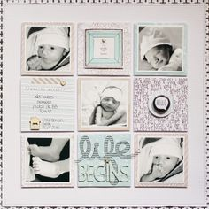 Page « Our Little Darling » GRID