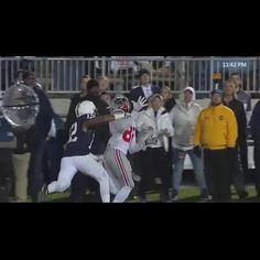 Referees miss pass interference in Ohio State-Penn State game - http://www.truesportsfan.com/referees-miss-pass-interference-in-ohio-state-penn-state-game/