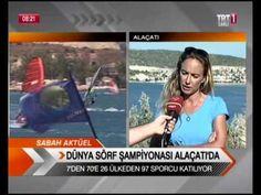 ALAÇATI'DA ÇAĞLA KUBAT İLE RÜZGAR SÖRFÜ - Alaçatı Sosyal