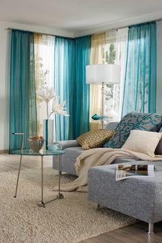 Wohnzimmer Gardinen Gestreift Blau Weiß Sofa   Gardinen   Pinterest   Weiße  Sofas, Gardinen Und Gardinen Und Vorhänge
