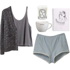 ᴘɪɴᴛᴇƦᴇѕᴛ: ellιe тнe ѕloтн ❂✧❁ Cute Lazy Outfits, Cool Outfits, Casual Outfits, Teen Fashion Outfits, Womens Fashion, Lingerie, Comfortable Outfits, Polyvore Outfits, Lounge Wear