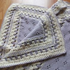 nice example of crochet meets knit