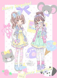 Kawaii art by ManaMoko