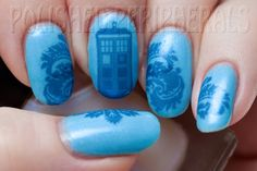Doctor Who! (handmade water decal)