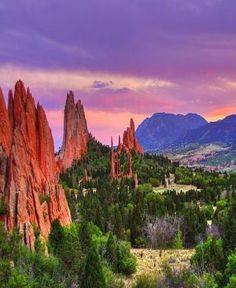 Garden Of The Gods ,Colorado , USA - Travel Pedia (99 pieces)
