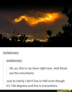 You sure that's not hell?