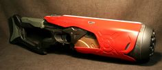 Photo by Brian Johnson Cosplay Armor, Cosplay Diy, Cool Nerf Guns, Nerf Mod, Concept Weapons, Diy Toys, Hand Guns, Water Guns, Colors