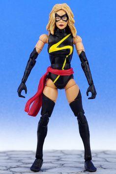 "Marvel Legends Giant Man Series MS MARVEL WARBIRD 6"" Action Figure Toy Biz 2006 #ToyBiz"