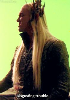 Lee Pace in the Extended Edition of The Hobbit