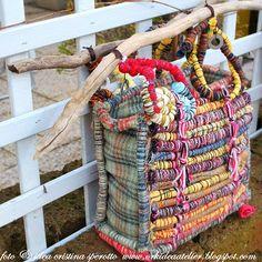 una magica borsa con spiegazioni - recycle bag