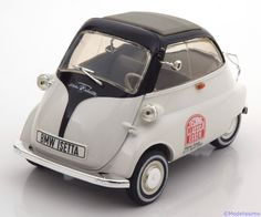 BMW Isetta 250, Techno Classica, weiss/schwarz. Revell, 1/18, No.?, Metall, Limited Edition 60 pcs. Price (2016): 100 EUR.