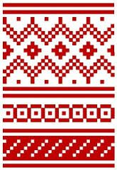 Bildresultat för christmas stocking knitting pattern fair isle