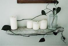 Shelf idea for beach theme room