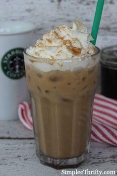 Copycat Starbucks Iced Cinnamon Dolce Latte  #copycat #drinkrecipe #starbucks