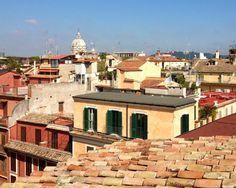 Our views - La Cupola di San Carlo al Corso vista dalla ns terrazza Terrazzo, Madrid, San, Mansions, House Styles, Home Decor, Rome, Italia, Decoration Home
