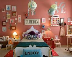 like some of these ideas for Amber's room