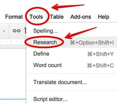 Here Is How to Easily Cite Papers in Different Formats in Google Docs ~ Educational Technology and Mobile Learning