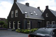 nieuwbouw woning schuwacht 206 te lekkerkerk Beautiful Homes, New Homes, Exterior, Nice, Places, Modern, Home Decor, Fall, Houses