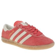 Adidas red Hamburgs in 39