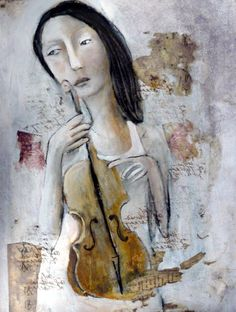 Mixed Media Art Original Painting By artist Misty Mawn