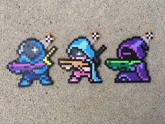 Titan / Warlock / Hunter - Destiny The Game - Video Game - Inspired Perler Bead Sprite Pixel Art